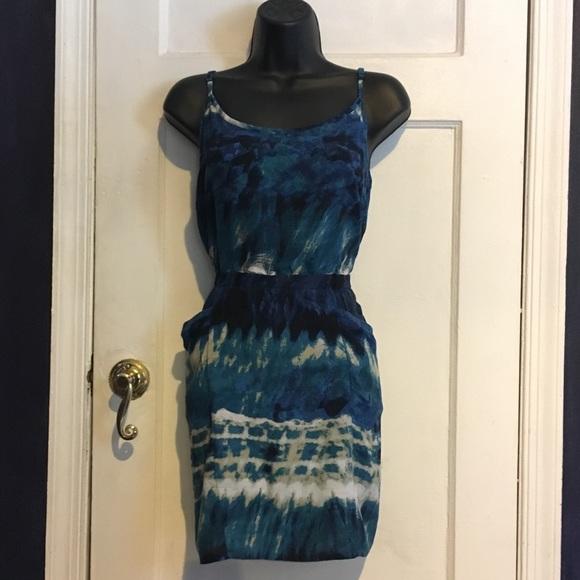 Vintage Dresses & Skirts - Vintage Tie Dye Dress